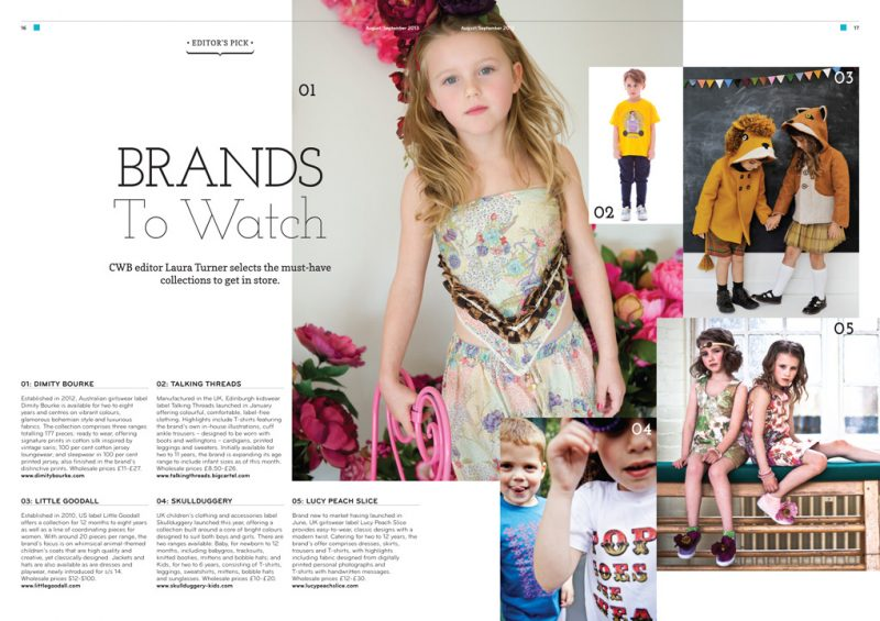 CWB Magazine - Brands to Watch