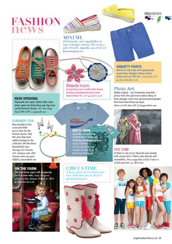 Angels & Urchins magazine