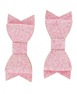 lucypeachslice, emma prigmore, st albans, hairclip, pink bow, bow, bow clip, girls hairclip, hair, kids