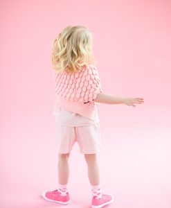 Girls' Powder Pink