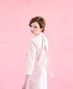Womens' Powder Pink Linen
